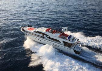 Jina I yacht charter Couach Motor Yacht