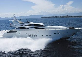 Lis charter yacht exterior designed by Andrea Bacigalupo