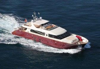 Aria yacht charter C.Boat Motor Yacht