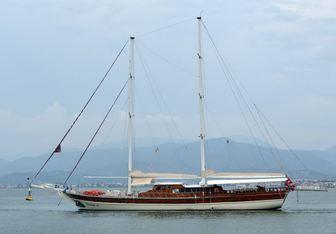 Holiday X yacht charter Kural Yat Sail Yacht