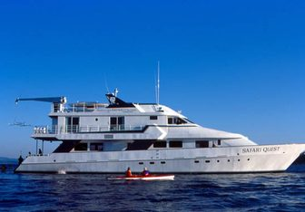 Safari Quest Yacht Charter in Alaska
