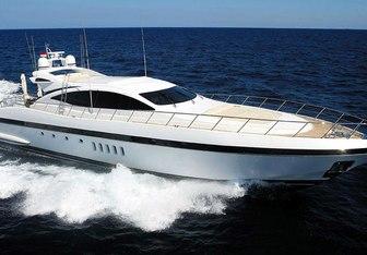 Orion I yacht charter Overmarine Motor Yacht