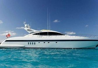 Eva yacht charter Mangusta Motor Yacht