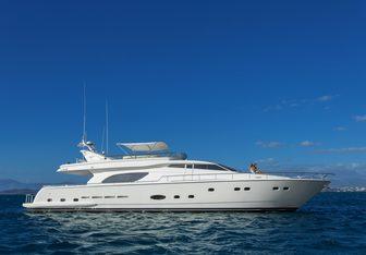 Iroue yacht charter Azimut Motor Yacht