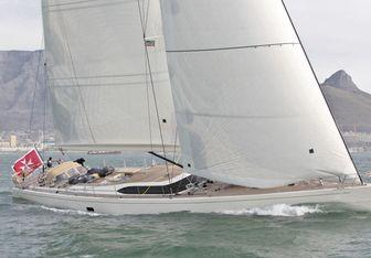 FiftyFifty II charter yacht interior designed by Nauta Yachts