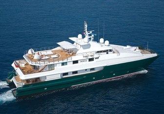Moecca yacht charter Oceanfast Motor Yacht