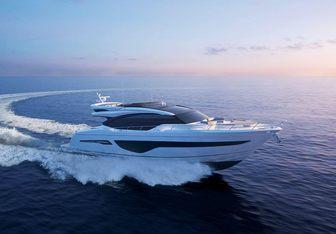 SCORE ONE yacht charter Princess Motor Yacht