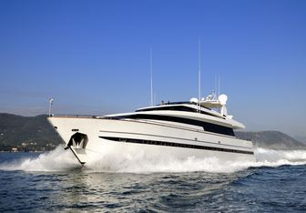 Aria yacht charter Sanlorenzo Motor Yacht