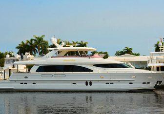 Kentucky Belle yacht charter Horizon Motor Yacht