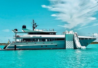 Oculus charter yacht exterior designed by Bannenberg & Rowell