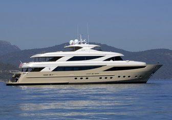 Steel Yacht Charter in Turkey