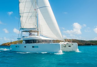 Lotus Yacht Charter in St Barts