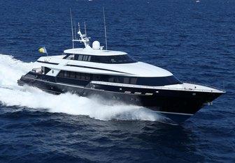 OCTOPUSSY charter yacht interior designed by Art Line & Joachim Kinder Yacht Design