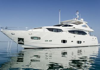 Emrys yacht charter Sunseeker Motor Yacht