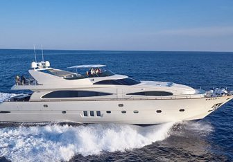 Astondoa charter yacht exterior designed by Nuvolari Lenard