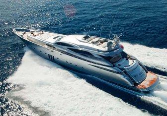Shooting Star yacht charter Pershing Motor Yacht