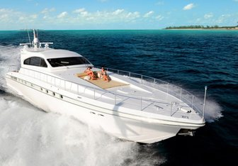 PF Flyer yacht charter Leopard Motor Yacht