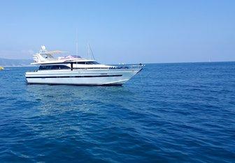 Claramaria yacht charter Cantieri di Pisa Motor Yacht