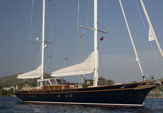 Ilios yacht charter Kesgin Yachts Ltd. Sail Yacht