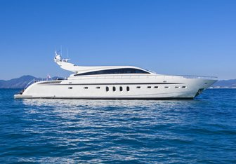 RG512 yacht charter Leopard Motor Yacht