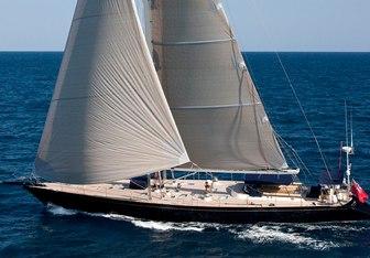 Dark Star of London yacht charter Tréhard Marine Sail Yacht