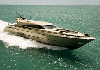Tuasempre yacht charter AB Yachts Motor Yacht