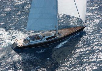 Mystery yacht charter Nautor's Swan Sail Yacht