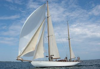 Talisman yacht charter Abeking & Rasmussen Sail Yacht