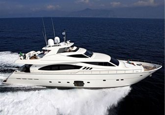 Aurora Dignitatis yacht charter Ferretti Yachts Motor Yacht