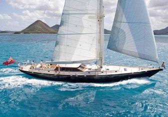 Whirlwind yacht charter Holland Jachtbouw Sail Yacht