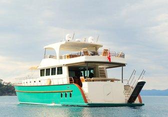 Babosch Yacht Charter in Turkey