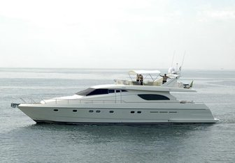 Celine yacht charter Ferretti Yachts Motor Yacht