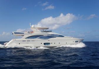 Andreika yacht charter Azimut Motor Yacht
