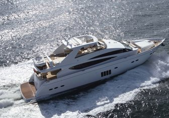 Princess 85 Yacht Charter in St Tropez