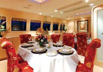 Margaux yacht charter Advanced Ocean Systems Motor Yacht