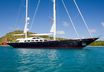 Antara yacht charter Perini Navi Sail Yacht