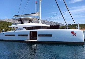 Adriatic Dragon yacht charter Lagoon Sail Yacht