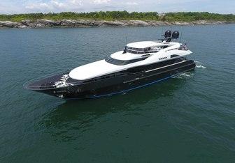 Temptation yacht charter Palmer Johnson Motor Yacht
