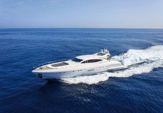 Four Friends yacht charter Overmarine Motor Yacht