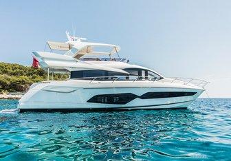 Hunky Dory Of yacht charter Sunseeker Motor Yacht