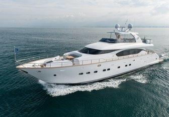 Miredo yacht charter Maiora Motor Yacht