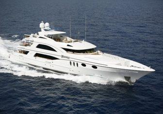 Wheels yacht charter Trinity Yachts Motor Yacht