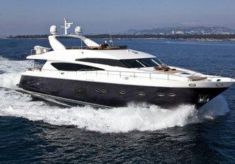 Belka yacht charter Princess Motor Yacht