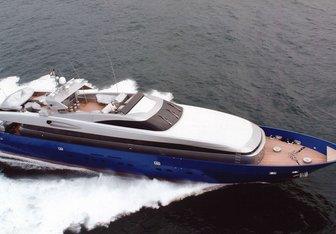 Bellissima yacht charter Baglietto Motor Yacht