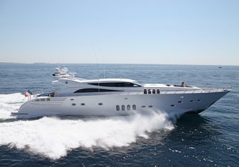 Phoenician yacht charter Italyachts Motor Yacht