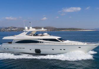 Astarte yacht charter Ferretti Yachts Motor Yacht