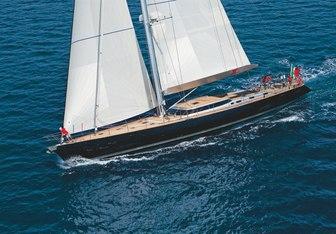 Black Lion charter yacht interior designed by Nauta Yachts