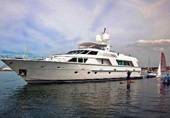 Victoria yacht charter Hatteras Motor Yacht