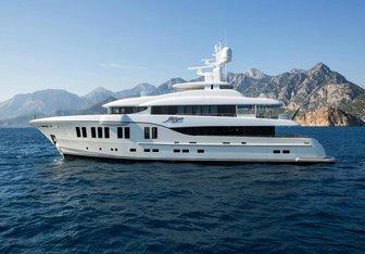 Ruya yacht charter Alia Yacht Motor Yacht