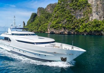 Xanadu of London Yacht Charter in Myanmar (Burma)